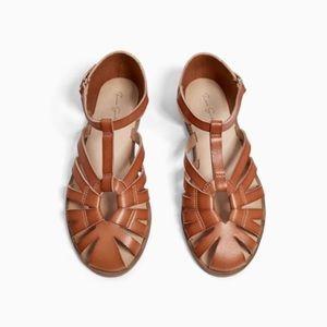 GORGEOUS ZARA Girls Brown Sandals